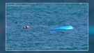 A Guelph teen saved a kayaker from drowning at Sunset Point Beach in Collingwood on July 26, 2020. (Source: Duncan Bristow)