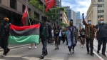 Hundreds walked through downtown Toronto on Emancipation Day.