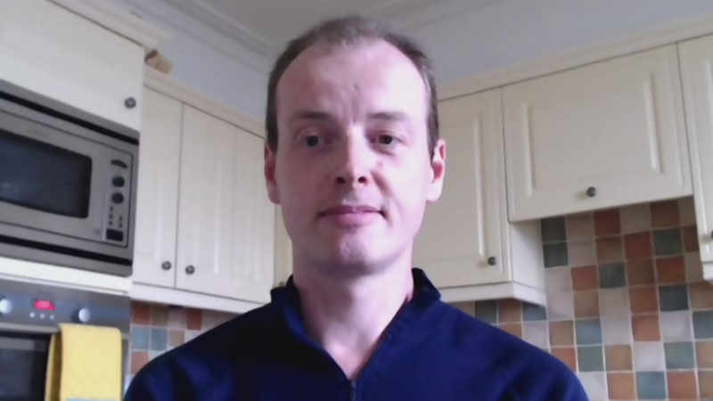 ICU doctor Tom Lawton