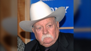 In this Monday, Dec. 14, 2009 file photo, Actor Wilford Brimley attends the premiere of 'Did You Hear About The Morgans' at the Ziegfeld Theater in New York. (AP Photo/Evan Agostini, File)
