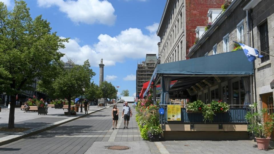 Montreal empty