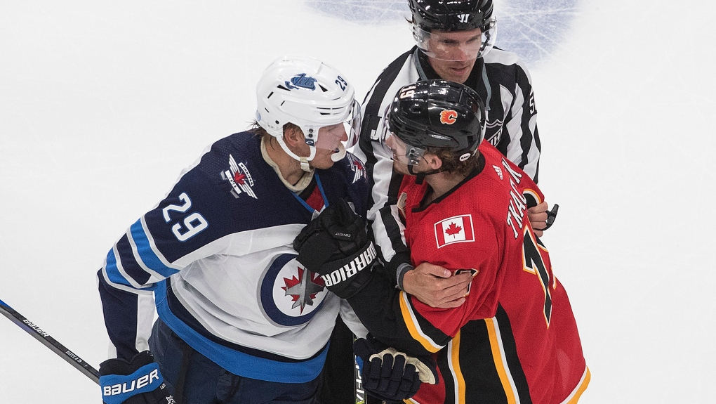 It S An Absolutely Filthy Disgusting Hit Jets Lose Game Scheifele And Laine In Qualifying Series Opener Ctv News
