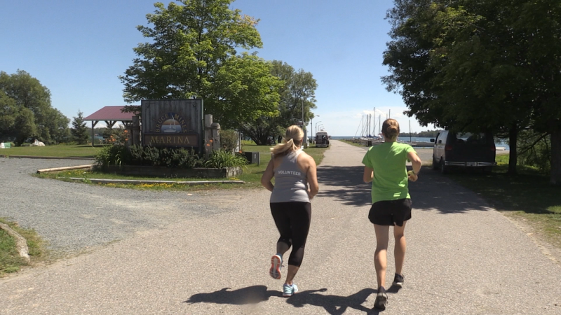"Registration is still open for those wanting to participate, which you can do by visiting the Bruce Mines ""Run Around The Bay"" Facebook page. Aug. 2/2020 (Christian D'Avino/CTV News Northern Ontario)"