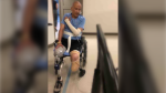 CPS Const. Jason Bramham lost both of his legs as a result of his battle with H1N9.