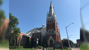 Robertson Wesley United Church. (Sean McClune/CTV News Edmonton)