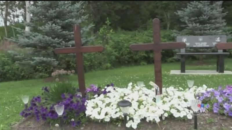 Families dealing with vandalism at memorial site
