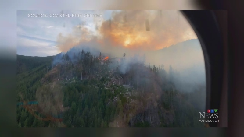 B.C. wildfire season heating up