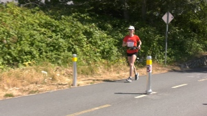 Woman runs 10 marathons in 10 days
