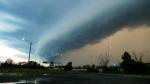 Thunderstorm timelapse video