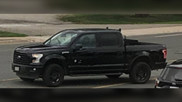 Police have released an image of a suspect vehicle wanted in connection with a fatal shooting in Vaughan, Ont. (York Regional Police)