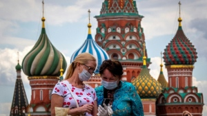 At more than 850,000 infections, Russia's coronavirus caseload is currently fourth in the world after the United States, Brazil and India. (AFP)