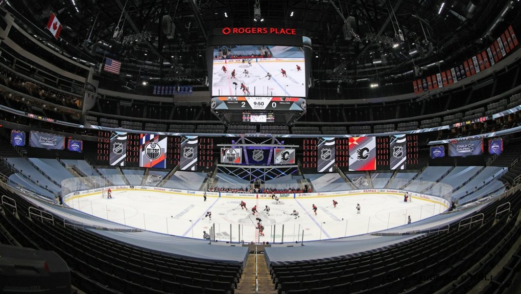 Rogers Place in Edmonton, AB