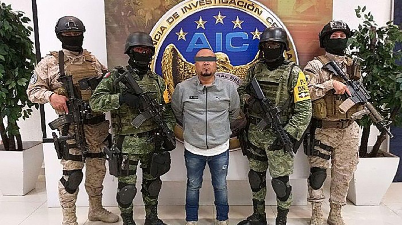A photo from the Guanajuato State Attorney's Office showing the arrest of José Antonio Yépez Ortiz. (Guanajuato State Attorney's Office/Handout/EPA-EFE/Shutterstock/CNN)