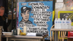 A memorial for Thomus Donaghy is seen Monday, Aug. 3, 2020.