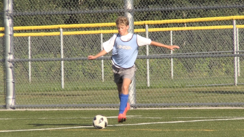 The local health unit and Ontario Soccer Association have allowed the Nipissing District Soccer Club to hold training sessions again.