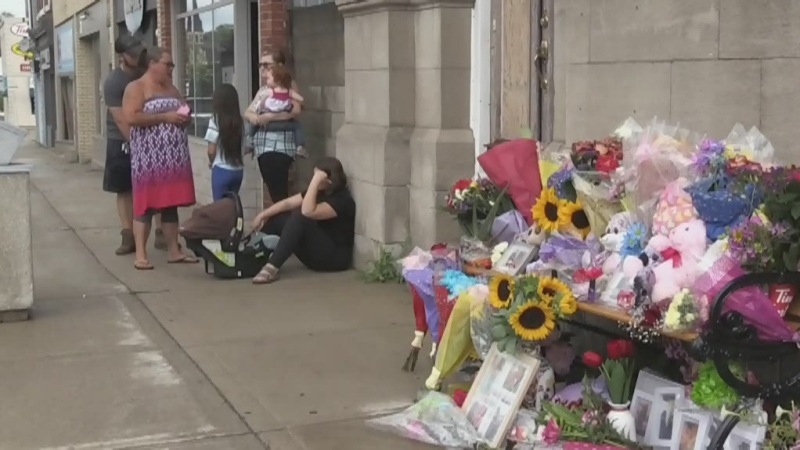 Memorial grows for Ingersoll woman