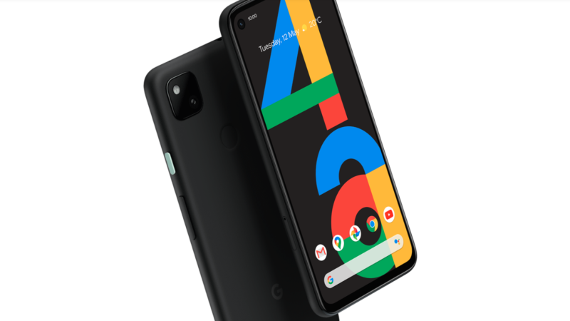 The Pixel 4a, as seen on the Google Store. (Google Store)