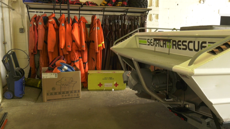 Chilliwack Search and Rescue gear is seen Monday, Aug. 3, 2020.