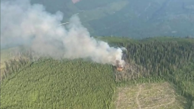 Nearly 100 wildfires are burning now in B.C.