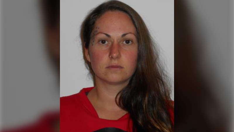 Correctional Service Canada said Nikki Alfonso escaped from the Eagle Women's Lodge on Sunday. (Source: Correctional Service Canada)