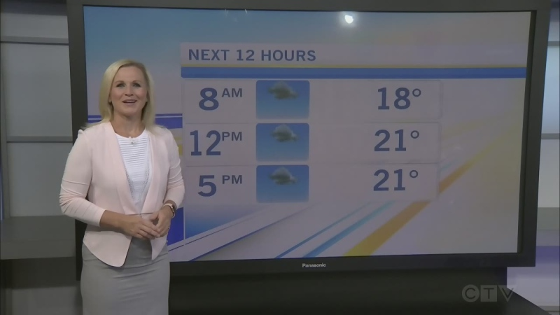 CTV Morning Live Weather Aug 04