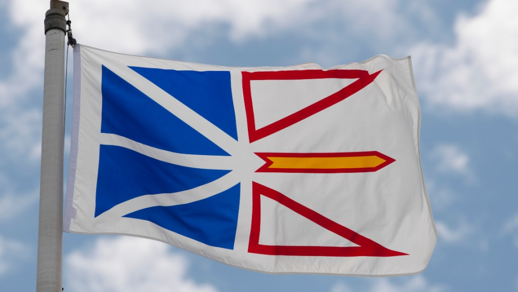 Newfoundland and Labrador's provincial flag