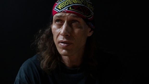 Jason is photographed in Toronto, on Thursday 30, 2020. Jason who, has spent numerous years living on the streets, was relocated to an apartment by the city, as part of their COVID response. The city has now given residents a month's notice of a further relocation site they still have to establish, after developers received a permit to develop the exiting midtown apartments ahead of schedule. THE CANADIAN PRESS/Chris Young