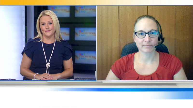 Infectious Disease Expert Dr. Vanessa Meier-Stephenson has the latest on the Covid-19 outbreak