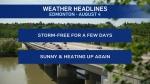 August 4 weather headlines