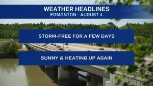 August 4 weather headlines