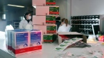 Boxes of hydroxychloroquine and chloroquine are seen at the pharmacy of the Nossa Senhora da Conceicao hospital in Porto Alegre, Brazil, on May 26, 2020. (Diego Vara/Reuters/CNN)