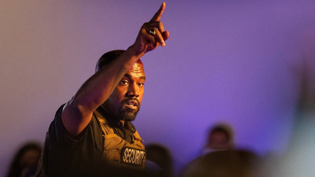 Kanye West submits petitions to appear on Arkansas ballot