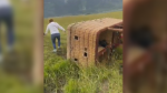 Wyoming authorities say three hot air balloons crashed on August 3, sending 17 people to the hospital.