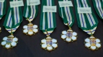 Order of British Columbia medals are shown: (Province of B.C. / Flickr)