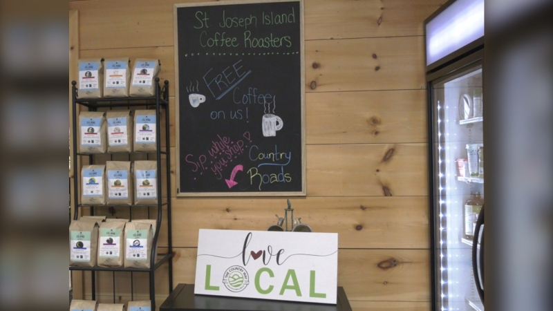 "The Rural Agri-Innovation Network (RAIN) is hosting a ""Buy Algoma, Buy Local"" contest with 60 different restaurants, stores, farmer' markets, cafes and farm-gates across the Algoma region taking part. Aug.4/2020 (Jairus Patterson/CTV News Northern Ontario)"