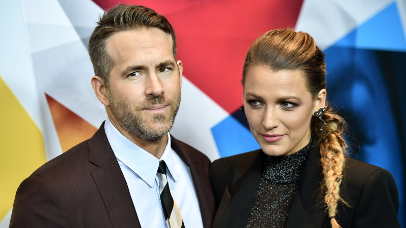 Ryan Reynolds, with wife Blake Lively, says 'it's impossible to reconcile' having their wedding at a former South Carolina plantation. (Steven Ferdman/Getty Images/CNN)