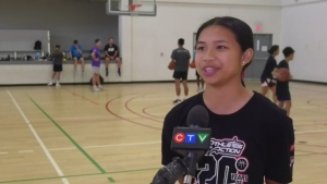 Basketball player gaining attention