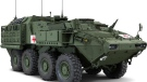 This is an example of an Armoured Combat Support Vehicle.