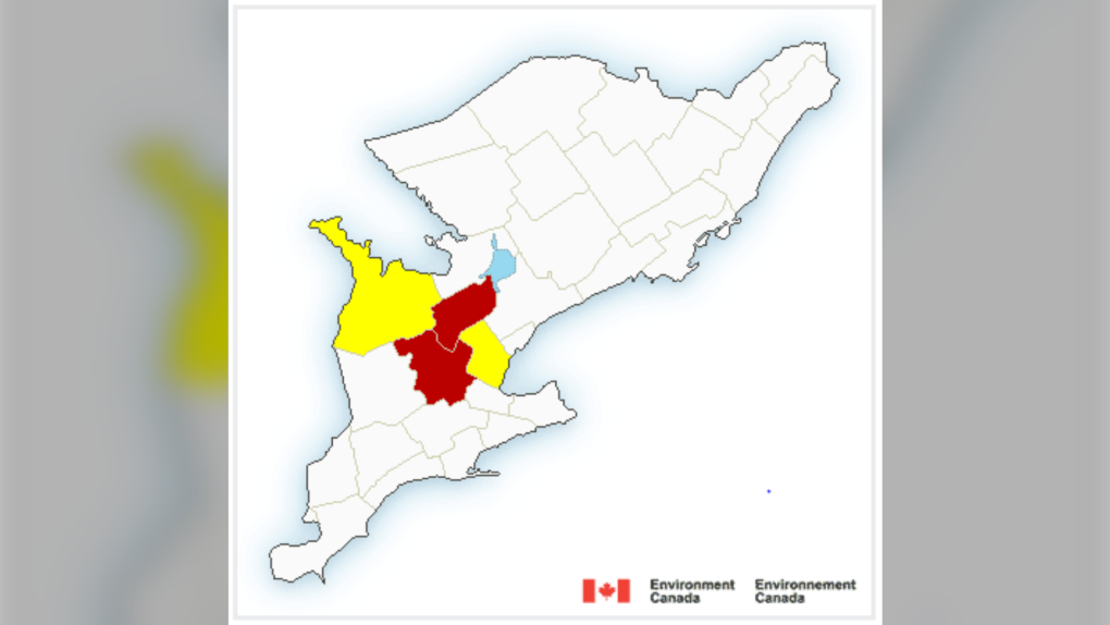 Tornado watch in effect for Toronto and parts of the GTA