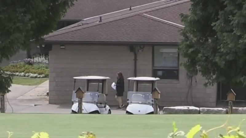 City Hall managers spotted cleaning golf carts