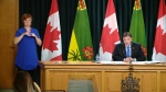 Education minister Gordon Wyant speaks about Saskatchewan's back-to-school plan on Aug. 4. (CTV Regina)