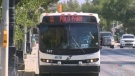 Regular transit service resumes