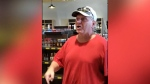 Offensive rant at north Edmonton liquor store