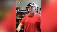 Offensive rant at north Edmonton liquor store