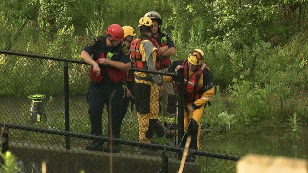 Richmond Hill water rescue
