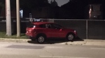 Officers responded to a crash in Kitchener on Aug. 4, 2020 (Terry Kelly / CTV News Kitchener)