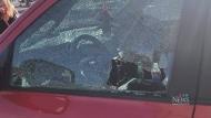 Vandalism victim wags finger at Horgan