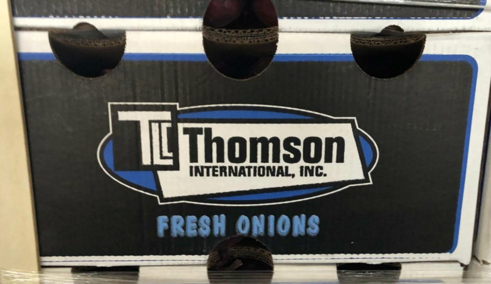 More than 100 people experiencing salmonella poisoning linked to Thomson International Onion, originating in Bakersfield, Calif. (Supplied)