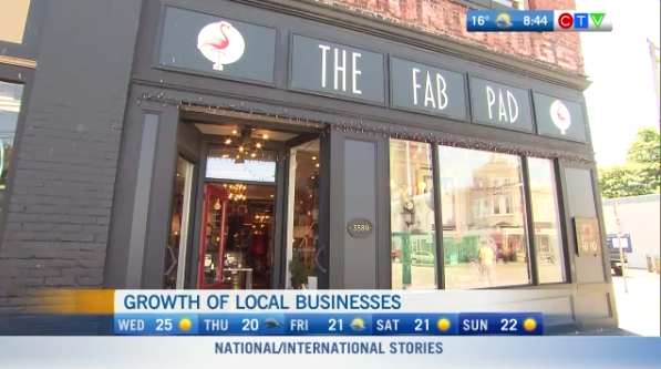 Growth o fbusinesses in Steveston
