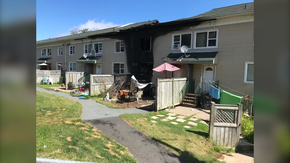 Arson at Mulgrave Park